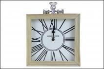 Zegar drewniany 24x29cm
