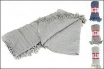 Narzuta na łóżko 125x180cm, bawełna