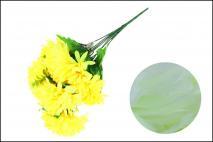 Bukiet kwiatów sztucznych chryzantema 55cm, 9gł.