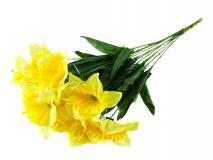 Kwiat sztuczny - żonkil 50cm