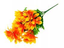 Bukiet kwiatow sztucznych 50cm, 9 gł.