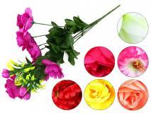 Bukiet kwiatów sztucznych mix w ekspo.