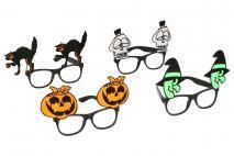 Dekoracja Halloween okulary