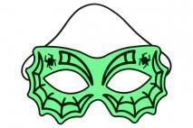 Dekoracja Halloween maska