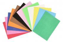 Kpl Arkusz z pianki do wycinania 12szt 10x14cm, mix kolorów