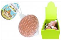 Wielk. Skaczące jajko 4x6cm guma
