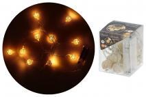 Girlanda świetlna 10 LED, tw.szt.