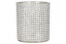 Świecznik szklany 9x10cm