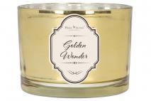 Świeca zapachowa Golden wonder 340g.