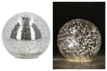 Kula szklana z LED 15x14cm