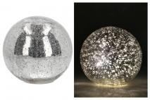 Kula szklana z LED 20x19cm