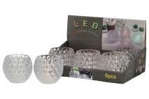 Świeczknik LED 7,5x6cm