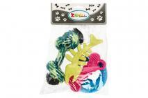 Kpl Zabawki dla zwierząt 4szt