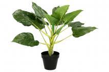Sztuczna roślina w doniczce 42cm zielony