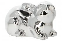 Wielk. Figurka ceramiaczna królik 15,2x8,7x9,2cm