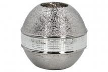 Świecznik ceramiczny 11,5x11,5x11,5cm