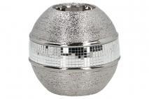 Świecznik ceramiczny 10,5x10,5x10,5cm