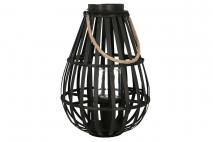 Lampion czarny 12x50x35cm