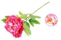 Kwiat sztuczny - piwonia 70cm mix kolorów