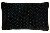 Poduszka czarna 30x50cm