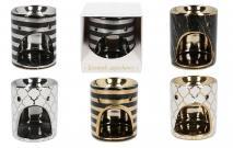 Kominek ceramiczny 11,5x10,5x9,5cm mix wzorów