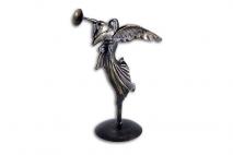 Anioł dekoracyjny 42cm, metal