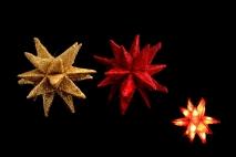 Ozd.boż. Gwiazda świecąca 20cm