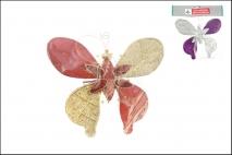 Zawieszka dekoracyjna - motyl 17x17cm