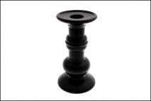 Świecznik ceramiczny 10x10x25cm bialy
