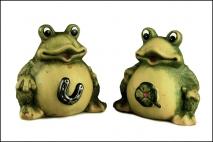 Skarbonka ceramiczna 16cm, żaba