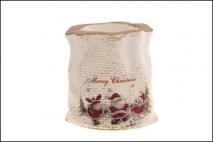 Ozd.boż. Świecznik ceramiczny 8x7.2x7.8cm