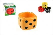 Popielniczka ceramika 7x8,5x8,5cm