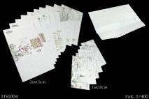 Kpl Papeteria 10x16 i 15x26cm