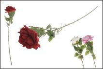 Kwiat sztuczny - róża 66cm