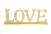 Dekoracja - LOVE 45x16x6cm